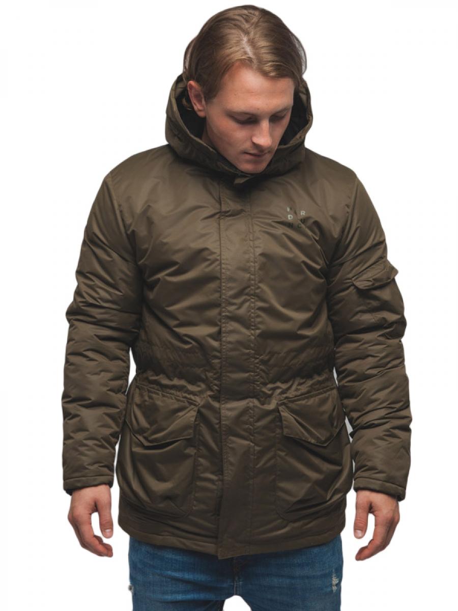 Куртка мужская HARD LUNCH JC-M-25/3 Square Logo хаки