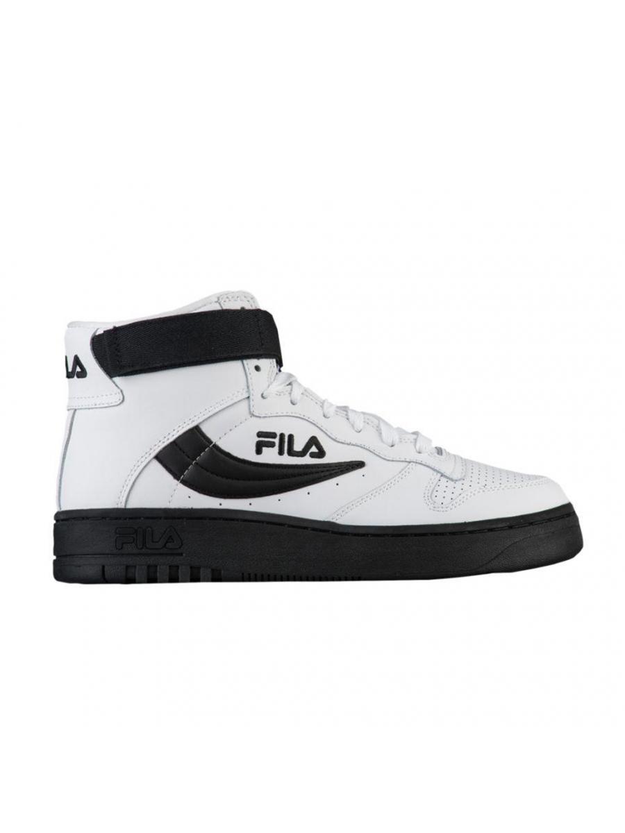 Мужские кроссовки Fila FX-100 черно-белые