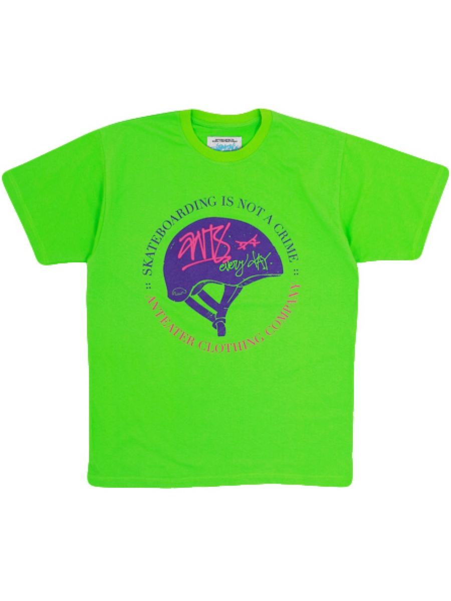 Футболка Anteater зеленая