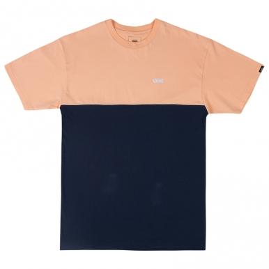Футболка Vans Сolorblock оранжево-синяя