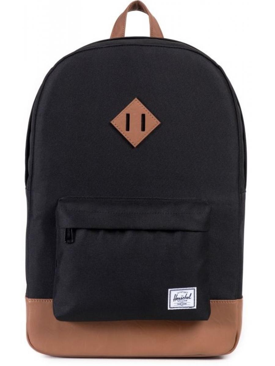 Рюкзак Herschel Heritage черно-коричневый