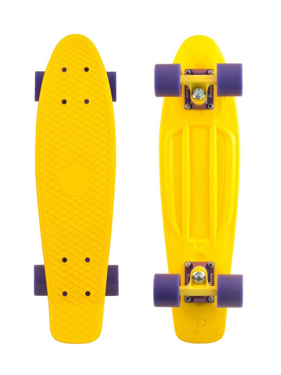 Комплект лонгборд PENNY Original желтый