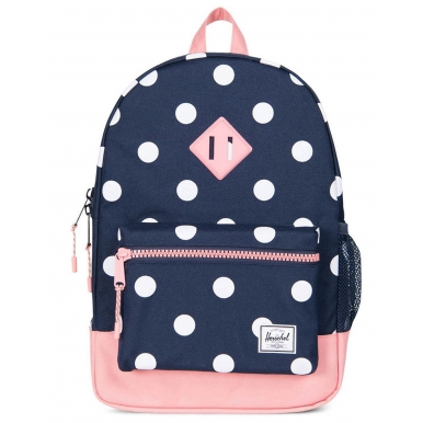 Рюкзак Herschel Heritage Youth в горошек синий