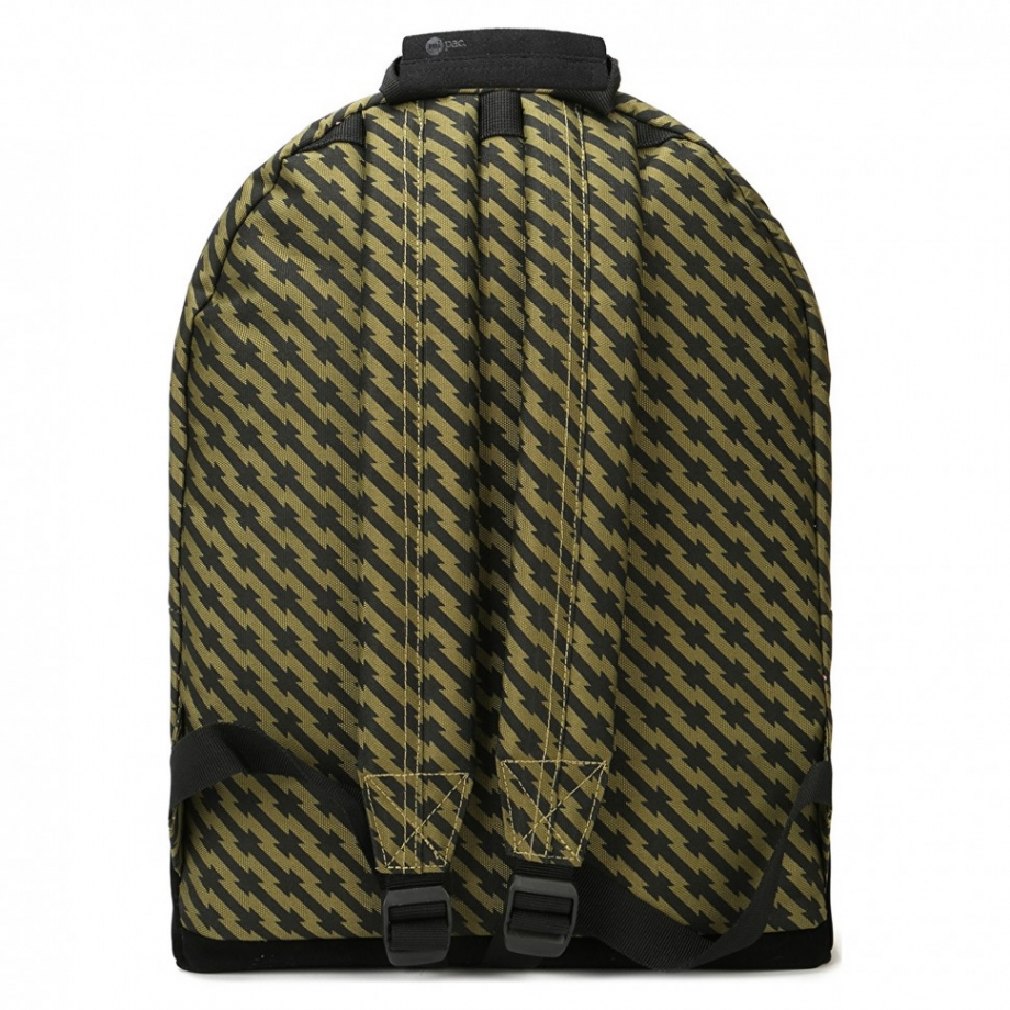 Рюкзак Mi Pac Barbed Wire черно-зеленый