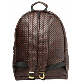 Рюкзак Mi Pac Braid темно-коричневый