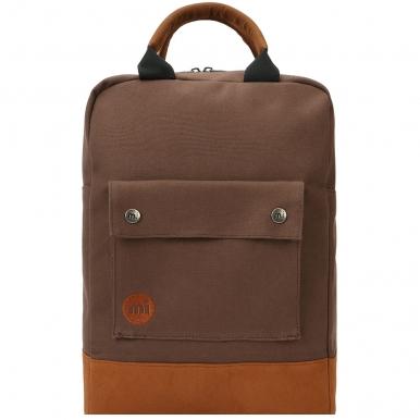 Рюкзак Mi Pac Canvas темно-коричневый