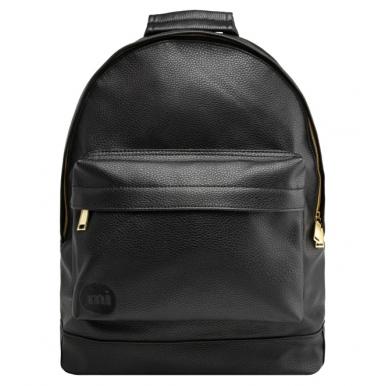 Рюкзак Mi Pac черный кожаный