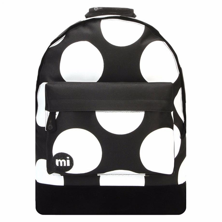 Рюкзак Mi Pac Polka XL черно-белый