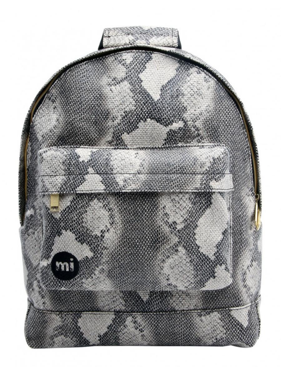 Рюкзак Mi Pac Rattlesnake черно-серый