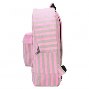 Рюкзак Mi Pac Seaside Stripe розовый
