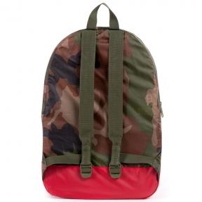 Рюкзак Herschel Packable Daypack камуфляж красно-синий