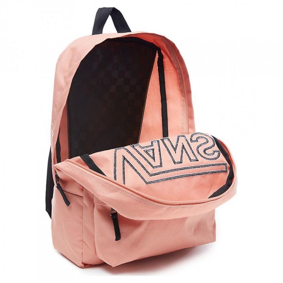 Рюкзак Vans Realm Flying V розовый