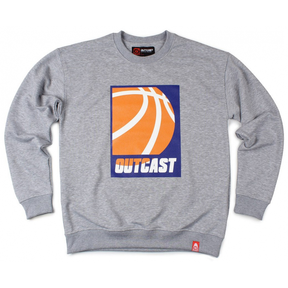 Свитшот Outcast Basketball серый