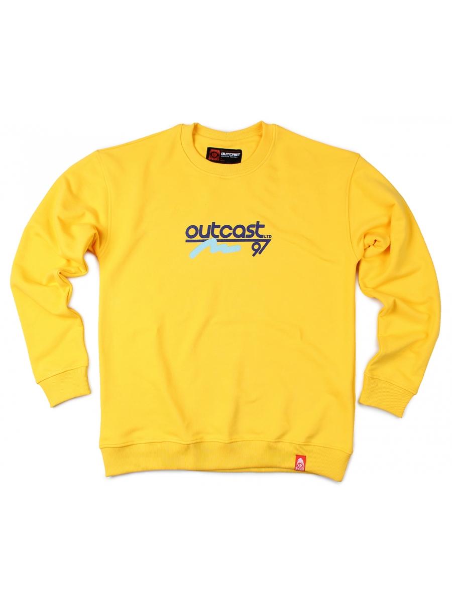 Свитшот Outcast 97 желтый