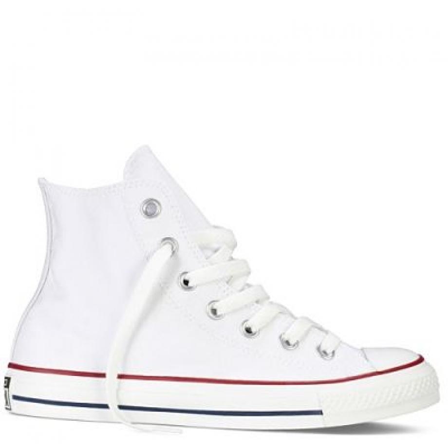 Кеды Converse белые высокие